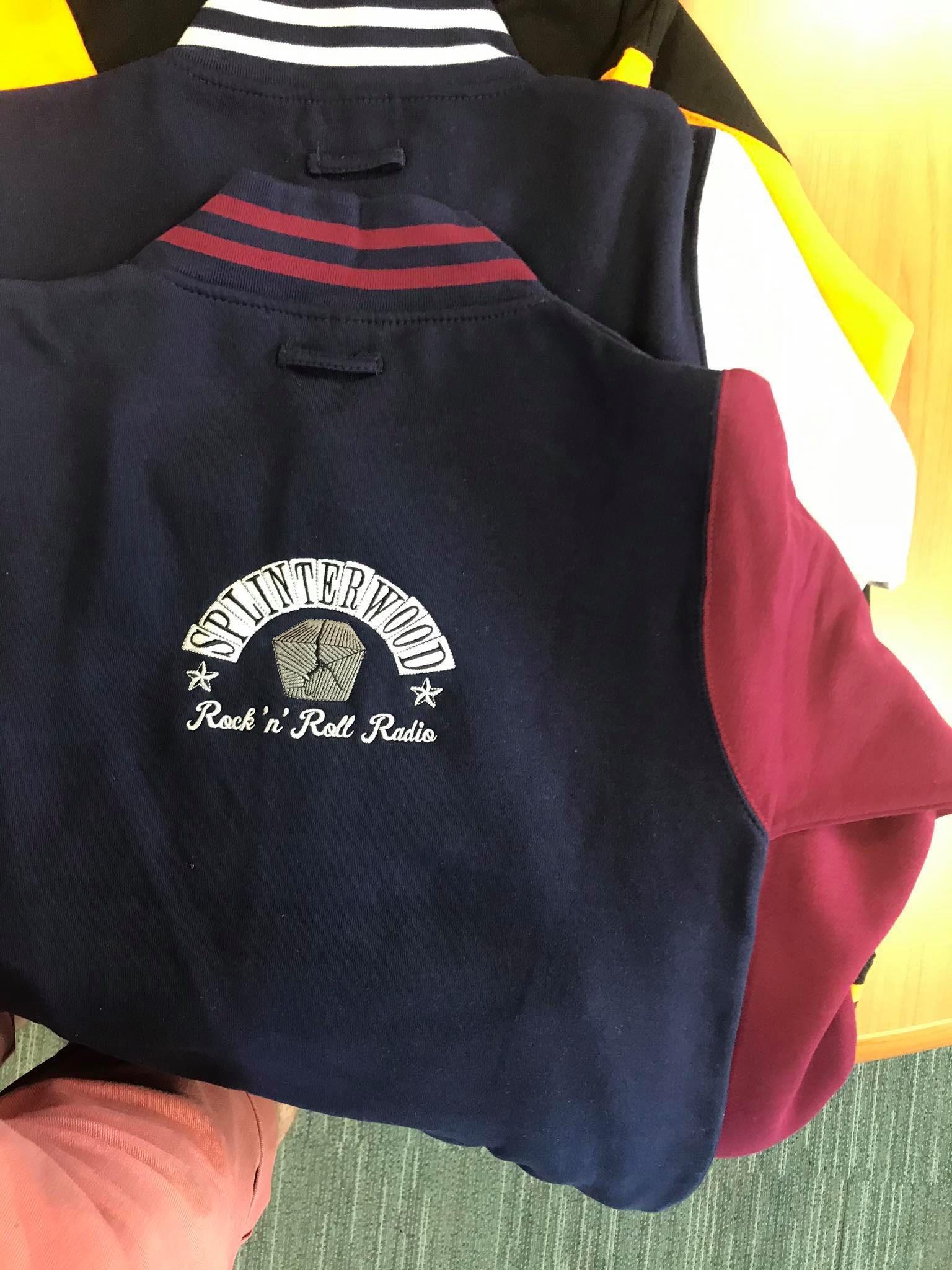 Splinterwood Radio College Jackets