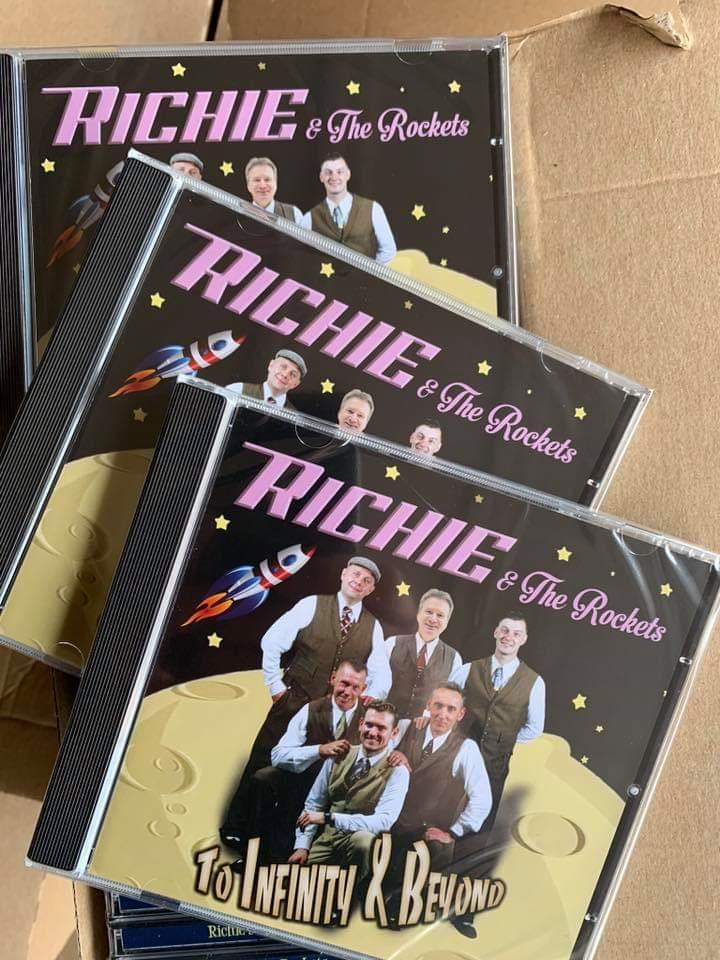Richie & The Rockets CD - To Infinity & Beyond